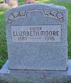 MOORE, ELIZABETH - Scott County, Arkansas | ELIZABETH MOORE - Arkansas Gravestone Photos
