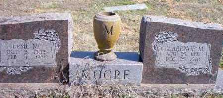 MOORE, ELSIE M - Scott County, Arkansas | ELSIE M MOORE - Arkansas Gravestone Photos