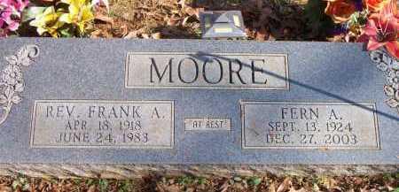 MOORE, FERN A - Scott County, Arkansas   FERN A MOORE - Arkansas Gravestone Photos