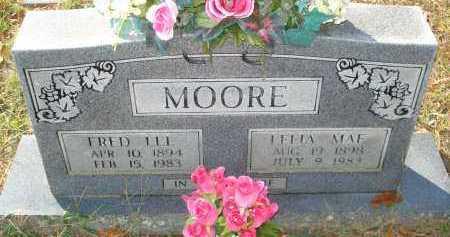 MOORE, FRED LEE - Scott County, Arkansas   FRED LEE MOORE - Arkansas Gravestone Photos