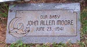 MOORE, JOHN ALLEN - Scott County, Arkansas   JOHN ALLEN MOORE - Arkansas Gravestone Photos