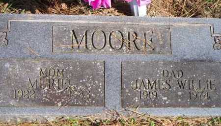 MOORE, JAMES WILLIE - Scott County, Arkansas | JAMES WILLIE MOORE - Arkansas Gravestone Photos