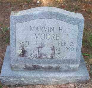 MOORE, MARVIN H - Scott County, Arkansas | MARVIN H MOORE - Arkansas Gravestone Photos