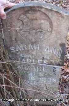 MOORE, SARAH ANN - Scott County, Arkansas | SARAH ANN MOORE - Arkansas Gravestone Photos