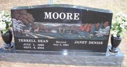 MOORE, TERRELL DEAN - Scott County, Arkansas | TERRELL DEAN MOORE - Arkansas Gravestone Photos