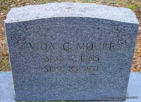 MOORE, VIDA C - Scott County, Arkansas | VIDA C MOORE - Arkansas Gravestone Photos