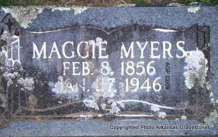 MYERS, MAGGIE - Scott County, Arkansas | MAGGIE MYERS - Arkansas Gravestone Photos