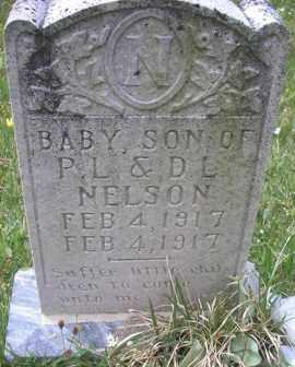 NELSON, BABY SON - Scott County, Arkansas   BABY SON NELSON - Arkansas Gravestone Photos