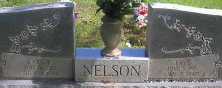 NELSON, FAYE - Scott County, Arkansas | FAYE NELSON - Arkansas Gravestone Photos