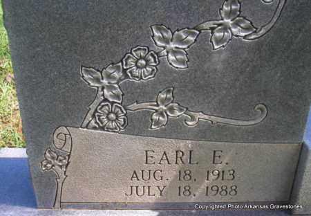 NELSON, EARL E (CLOSEUP) - Scott County, Arkansas | EARL E (CLOSEUP) NELSON - Arkansas Gravestone Photos