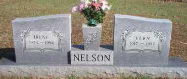 NELSON, IRENE - Scott County, Arkansas | IRENE NELSON - Arkansas Gravestone Photos