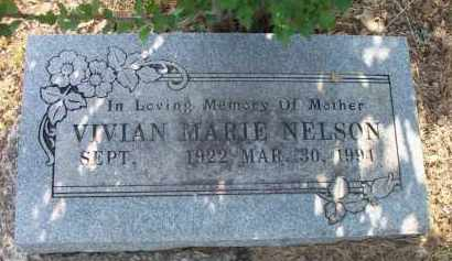 NELSON, VIVIAN MARIE - Scott County, Arkansas   VIVIAN MARIE NELSON - Arkansas Gravestone Photos