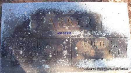 PARKER, JACOB M - Scott County, Arkansas | JACOB M PARKER - Arkansas Gravestone Photos