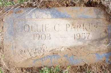 PARKER, OLLIE C - Scott County, Arkansas   OLLIE C PARKER - Arkansas Gravestone Photos