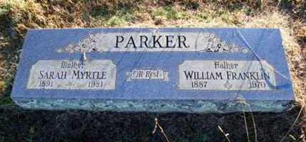 PARKER, WILLIAM - Scott County, Arkansas | WILLIAM PARKER - Arkansas Gravestone Photos