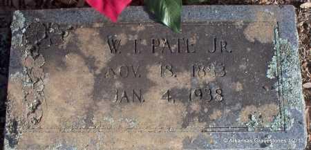 PATE, JR, W  T - Scott County, Arkansas | W  T PATE, JR - Arkansas Gravestone Photos