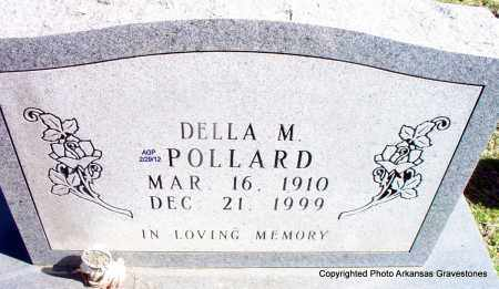 POLLARD, DELLA M - Scott County, Arkansas   DELLA M POLLARD - Arkansas Gravestone Photos