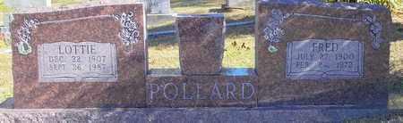 POLLARD, LOTTIE - Scott County, Arkansas | LOTTIE POLLARD - Arkansas Gravestone Photos