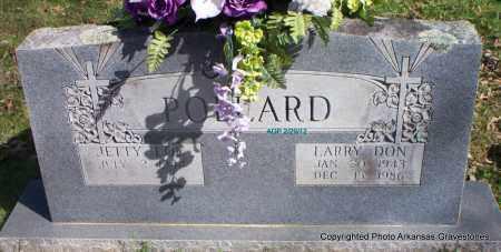 POLLARD, LARRY DON - Scott County, Arkansas | LARRY DON POLLARD - Arkansas Gravestone Photos