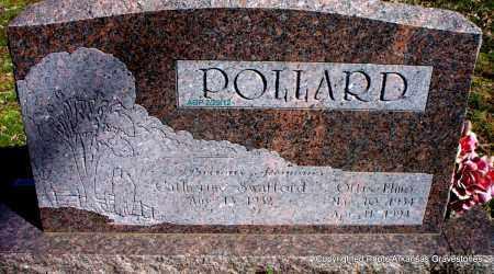 POLLARD, OTTIS ELMO - Scott County, Arkansas | OTTIS ELMO POLLARD - Arkansas Gravestone Photos