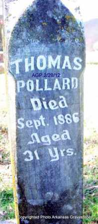 POLLARD, THOMAS - Scott County, Arkansas | THOMAS POLLARD - Arkansas Gravestone Photos