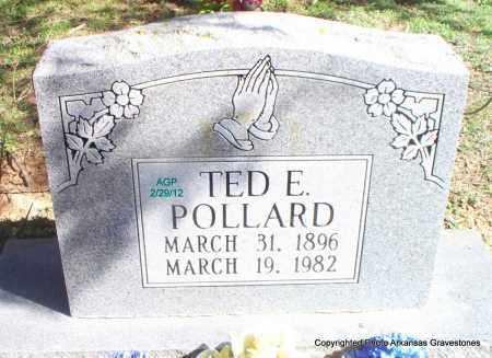 POLLARD, TED E - Scott County, Arkansas | TED E POLLARD - Arkansas Gravestone Photos