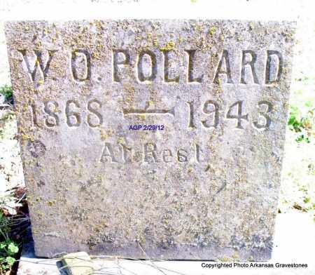 POLLARD, W O - Scott County, Arkansas | W O POLLARD - Arkansas Gravestone Photos