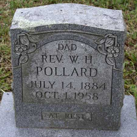 POLLARD, W  H, REV - Scott County, Arkansas | W  H, REV POLLARD - Arkansas Gravestone Photos