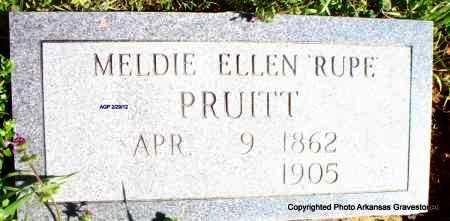 PRUITT, MELDIE ELLEN - Scott County, Arkansas | MELDIE ELLEN PRUITT - Arkansas Gravestone Photos