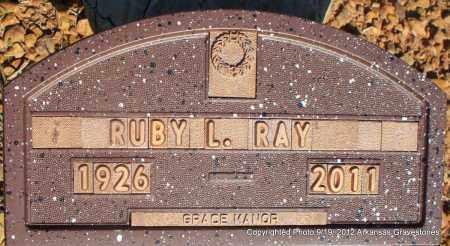 RAY, RUBY L - Scott County, Arkansas | RUBY L RAY - Arkansas Gravestone Photos