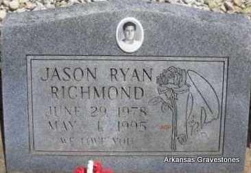 RICHMOND, JASON RYAN - Scott County, Arkansas | JASON RYAN RICHMOND - Arkansas Gravestone Photos