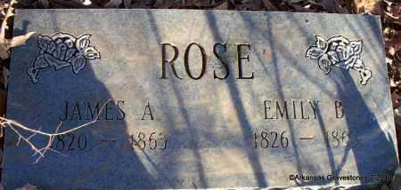 ROSE, EMILY SUSAN - Scott County, Arkansas | EMILY SUSAN ROSE - Arkansas Gravestone Photos