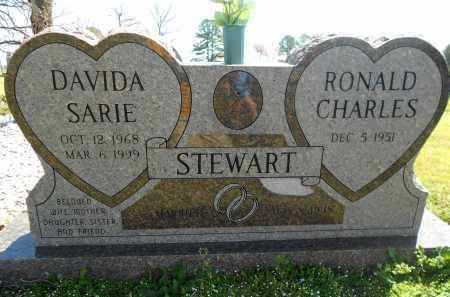 STEWART, DAVIDA SARIE - Scott County, Arkansas | DAVIDA SARIE STEWART - Arkansas Gravestone Photos