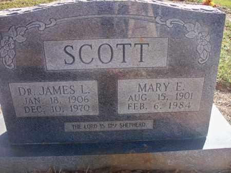 SCOTT, MARY E - Scott County, Arkansas | MARY E SCOTT - Arkansas Gravestone Photos