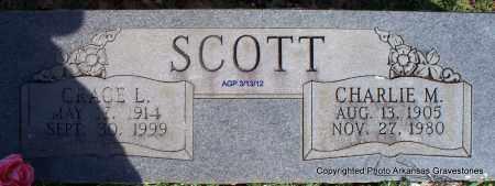SCOTT, GRACE L - Scott County, Arkansas | GRACE L SCOTT - Arkansas Gravestone Photos