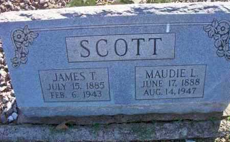 SCOTT, MAUDIE L - Scott County, Arkansas | MAUDIE L SCOTT - Arkansas Gravestone Photos