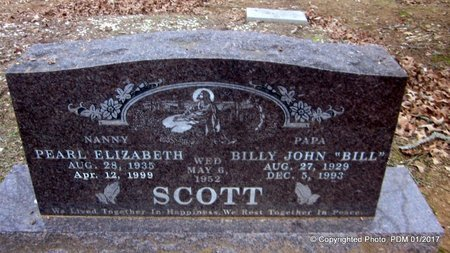 "SCOTT, BILLY JOHN ""BILL"" - Scott County, Arkansas 