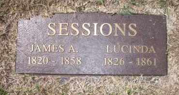 SESSIONS, LUCINDA - Scott County, Arkansas | LUCINDA SESSIONS - Arkansas Gravestone Photos