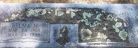 SIMS, BOB - Scott County, Arkansas | BOB SIMS - Arkansas Gravestone Photos
