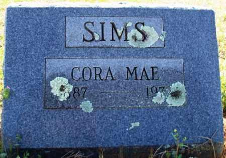 SIMS, CORA MAE - Scott County, Arkansas | CORA MAE SIMS - Arkansas Gravestone Photos