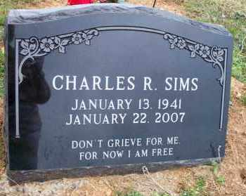 SIMS, CHARLES R - Scott County, Arkansas | CHARLES R SIMS - Arkansas Gravestone Photos