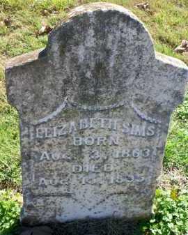 SIMS, ELIZABETH - Scott County, Arkansas   ELIZABETH SIMS - Arkansas Gravestone Photos