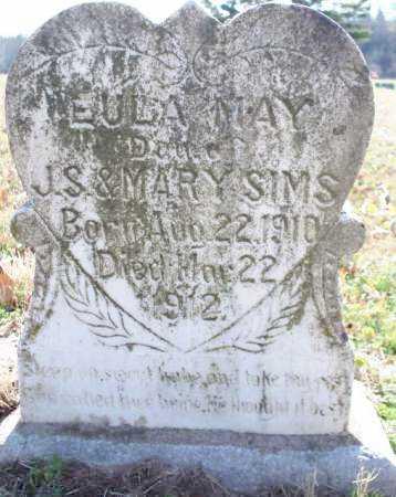 SIMS, EULA MAY - Scott County, Arkansas   EULA MAY SIMS - Arkansas Gravestone Photos