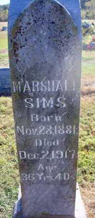 SIMS, MARSHALL - Scott County, Arkansas | MARSHALL SIMS - Arkansas Gravestone Photos