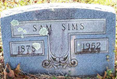 SIMS, SAM - Scott County, Arkansas   SAM SIMS - Arkansas Gravestone Photos