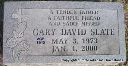 SLATE, GARY DAVID - Scott County, Arkansas | GARY DAVID SLATE - Arkansas Gravestone Photos