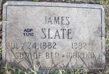 SLATE, JAMES - Scott County, Arkansas | JAMES SLATE - Arkansas Gravestone Photos