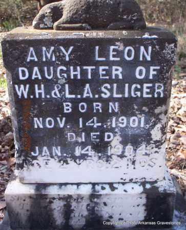 SLIGER, AMY LEON - Scott County, Arkansas | AMY LEON SLIGER - Arkansas Gravestone Photos