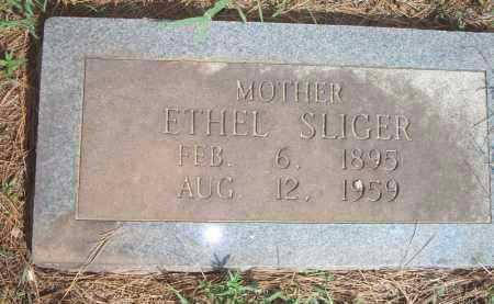 SLIGER, ETHEL - Scott County, Arkansas   ETHEL SLIGER - Arkansas Gravestone Photos