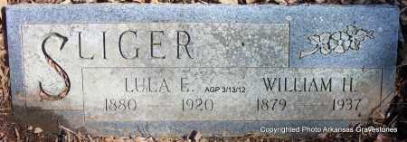 SLIGER, WILLIAM H - Scott County, Arkansas | WILLIAM H SLIGER - Arkansas Gravestone Photos